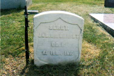 Gilchrist Military Stone