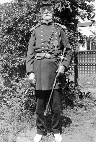 Magee, Old, In Uniform