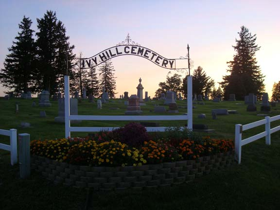 Ivy Hill Cemetery Entrance